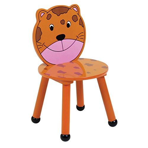 Tavolo di legno e 4 sedie per bambini, disegno safari ...