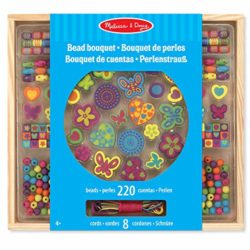 Melissa And Doug Kit Creativi In Legno Set Di Perle Deluxe 0