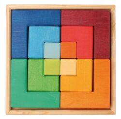 Puzzle Square Da Lime Wood Grimm 0