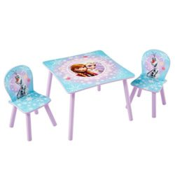 Worlds Apart Wap Disney Frozen Tavolino E Due Sedie Legnocomposito Multicolore 59x59x525 Cm 3 Unit 0
