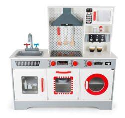 11081 Cucina Per Bambini Premium Small Foot In Legno Incl Macchina Per Il Caff Lavastoviglie Lavatrice Ecc A Partire Dai 3 Anni 0