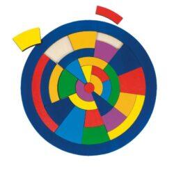 Goki Puzzle Cerchio In Legno 0