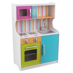 Kidkraft 53378 Cucina Giocattolo In Legno Per Bambini Bright Toddler Colori Vivaci 0