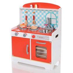 Lcp Kids Cucina Giocattolo In Legno Con Accessoriata Per Bambini Gioco Educazione 0