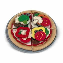Melissa Doug 13974 Cibo In Feltro Set Per Pizza 0
