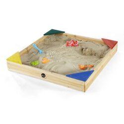 Plum 5036523062749 Sabbiera In Legno Per Bambini Multicolore 0