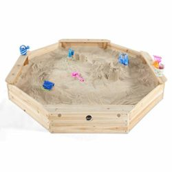 Plum Giant Octagonal Outdoor Play Wooden Sand Pit 0