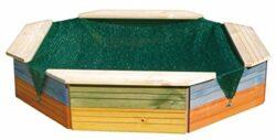Woody Vasca Di Sabbia In Legno A Colori 0
