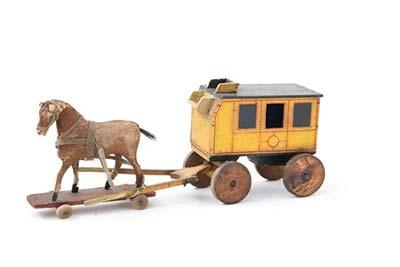 Cavallo In Legno Giocattolo