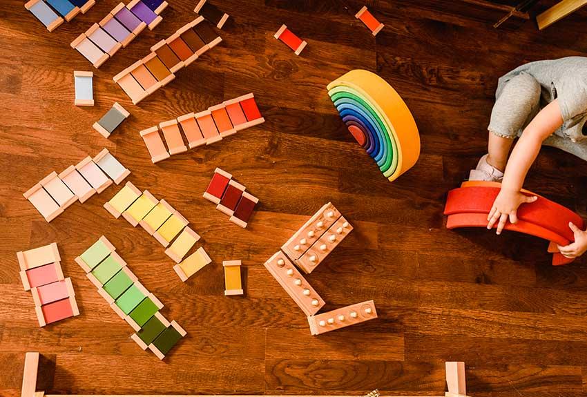 Mettere In Ordine Giochi Giocattoli