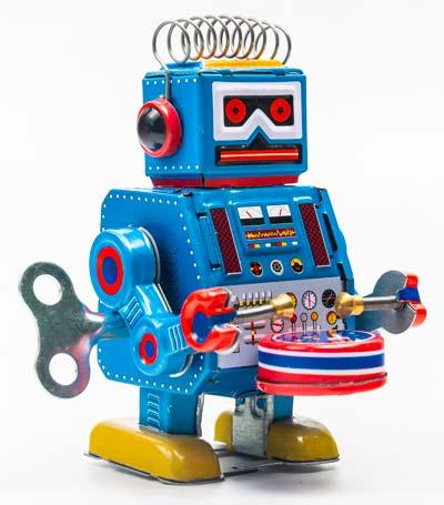 Robot Giocattolo