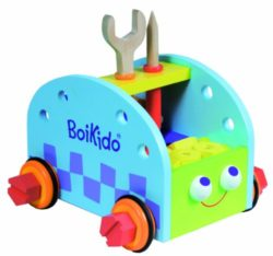 Boikido Bkd80901003 Set Costruzioni Fsc In Legno Da 40 Pezzi 0