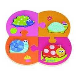 Boikido Bkd80909004 Giardino Doppio Puzzle In Legno 8 Pezzi 0