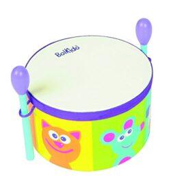Boikido Bkd80911005 My First Drum Tamburo Per Bambini Con Percussori In Legno 0