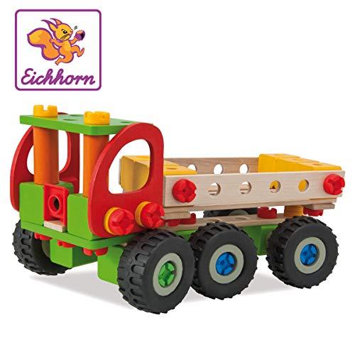 Eichhorn Autogru Da Cantiere 190 Pezzi Set Da Costruzione 4 Diverse Varianti Di Modello Costruibili Legno Di Faggio Certificato Fsc 100 100039039 0