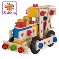 Eichhorn Heros 100039027 Constructor Per Costruire 6 Modelli Di Veicoli 100 Pezzi 0