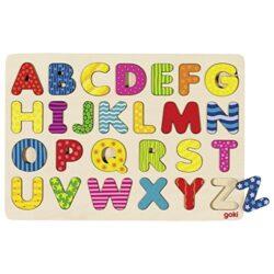 Goki 57672 Puzzle Alfabeto 0