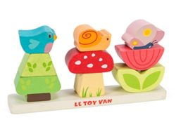 Le Toy Van Petilou Blocchi Di Legno Impilabili My Garden 0