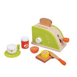 New Classic Toys Giocattoli Di Legno Tostapane Set Lenin Toys 0