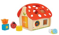New Classic Giocattoli 0567 Dalla Prima Era Toy Box In Forma Fungus 0