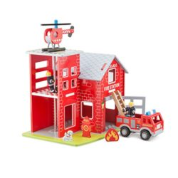 New Classic Toys Fire Station Multicolore 11020 0
