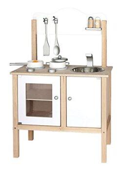 Viga 2043623 Cucina In Legno Con Accessori Bianco 0
