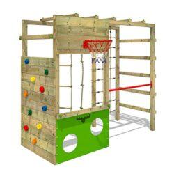 Fatmoose Di Area Giochi Cleverclimber Club Xxl Portico Di Gioco In Legno Torre Di Arrampicata 0
