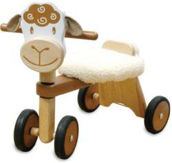 I M Toy Triciclo Per Bambino Animale In Legno Pecora Cavalcabili Giocattolo In Legno Prima Infanzia Im80005 0