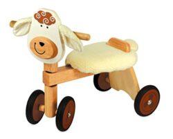 I M Toy Triciclo Per Bambino Animale In Legno Pecoracavalcabili Giocattolo Prima Infanzia Im87530 0