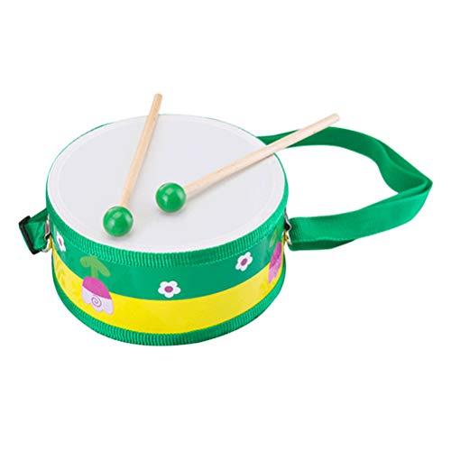 Toyvian Mano A Doppia Faccia Tamburo Percussione Strumento Musicale In Legno Giocattolo Educativo Per Bambini Modello Casuale 0