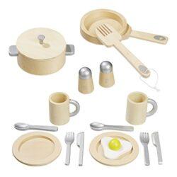 Howa Set Da Cucina Giocattolo In Legno 4868 0