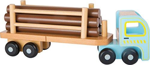 Small Foot Camion Per Il Trasporto Di Tronchi Di Alberi Con Rimorchio Rimovibile E Orientabile 10500 0