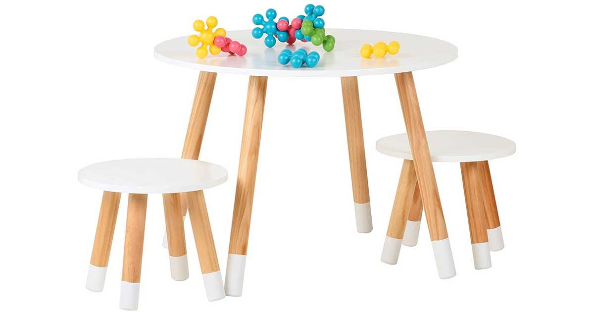 Tavolo Da Gioco In Legno Naturale E Di Qualita Ideale Per Bambini Da 2 Anni
