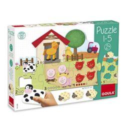 Goula 1 5 Bambini Puzzle Multicolore Sin Talla 53438 0