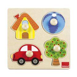 Goula 53015 Puzzle 4 Pezzi 0