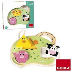 Goula Bambini Puzzle Multicolore 53452 0