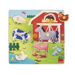 Goula Mothersbabies Farm Puzzle 7 Pcs Bambini Multicolore 53040 0